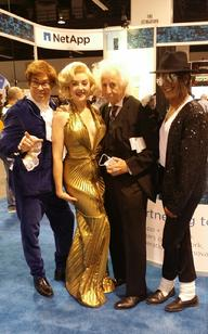 Austin Powers, Marilyn Monroe. Albert Einstein and Michael Jackson Lookalikes Trade Show Celebrity Look Alikes celebrity look alikes celebrity impersonators rat pack show frank sintra tribute tribute shows look a likes